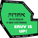 Shabbat Vayeshev 5778 – ERUV IS UP